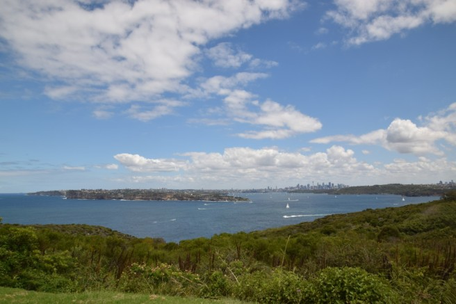 View of Sydney from North  Head,  Manly.