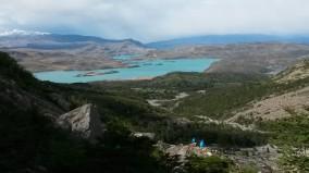 Lago Nordensköld from Mirador Frances