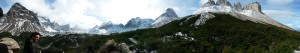 View from Mirador Brittanico
