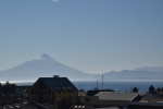 Purto Varas with view of Osorno Volcano and Llanquihue Lake